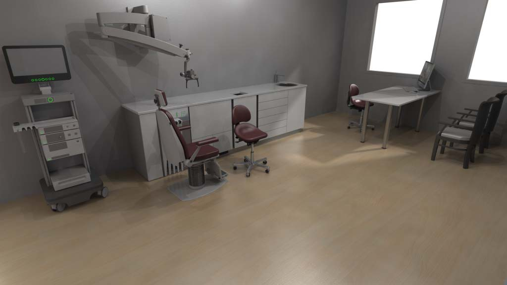 MediTop kamervisualisatie